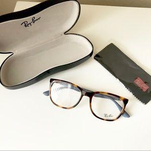 Ray-Ban Shiny Light Havana Eyeglasses